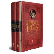 As novas aventuras de Sherlock Holmes (Box com 2 livros)