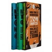 Todas as histórias de Tom Sawyer e Huckleberry Finn - Box