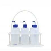 Cesto para Transporte com Alça em Polipropileno com Capacidade para 6 frascos