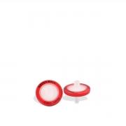 Filtro para Seringa com Membrana em PTFE Hidrofílico Poro 0,22 µm e Diâmetro 25 mm (100 unidades)