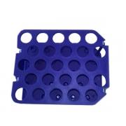 Rack Plástico para 25 Tubos Tipo Falcon de 15mL (5 Unidades)