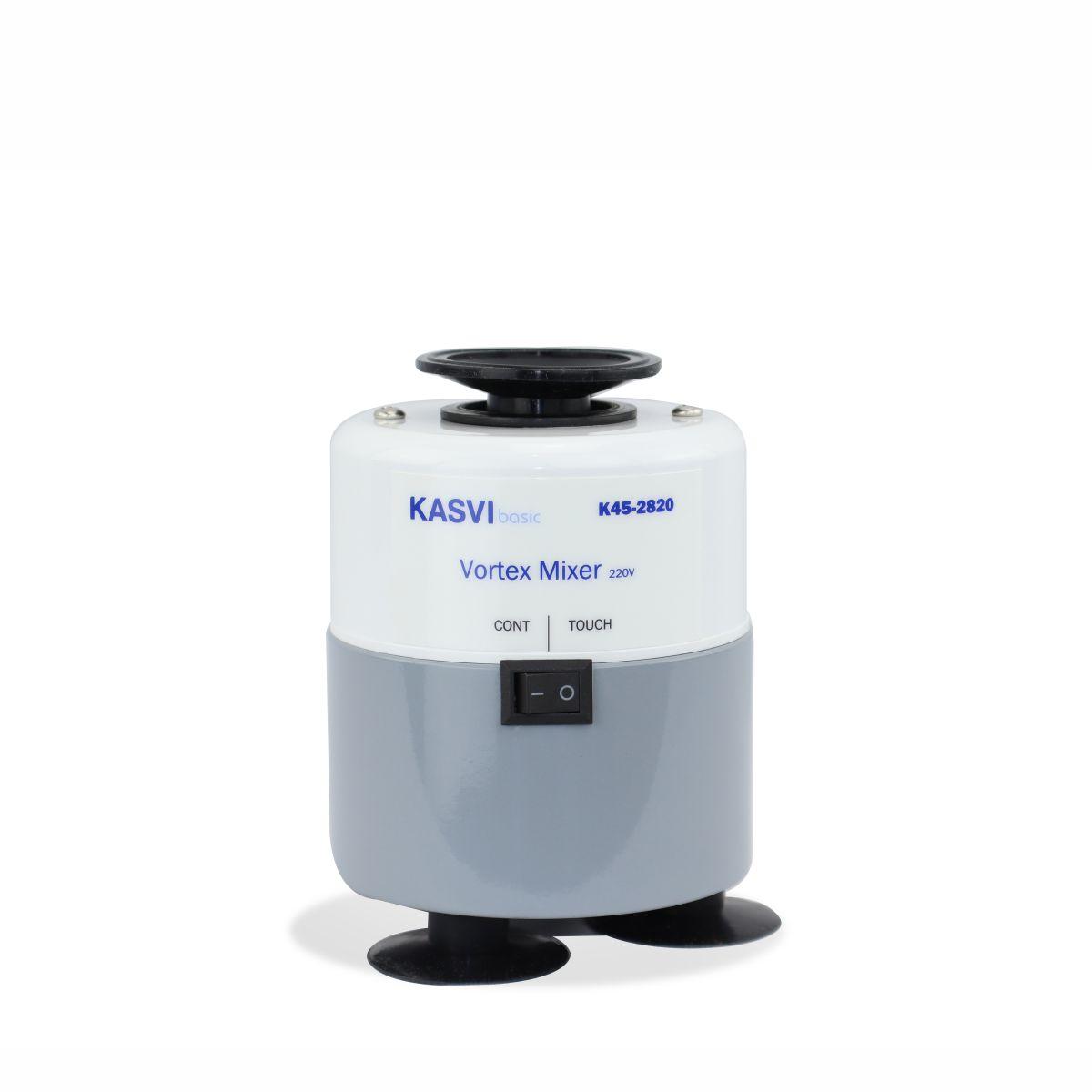 Agitador de Tubos Tipo Vortex Modelo Basic 2800 rpm 220v