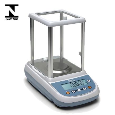 Balança Analítica Capacidade 220g Resolução 0,0001g com Calibração Interna Automática