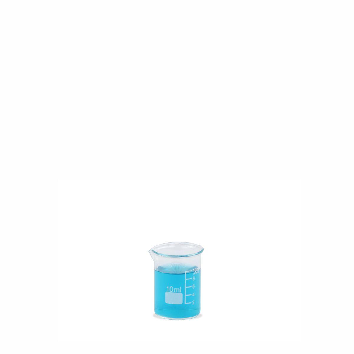 Béquer de Vidro Forma Baixa (Griffin) 10 mL