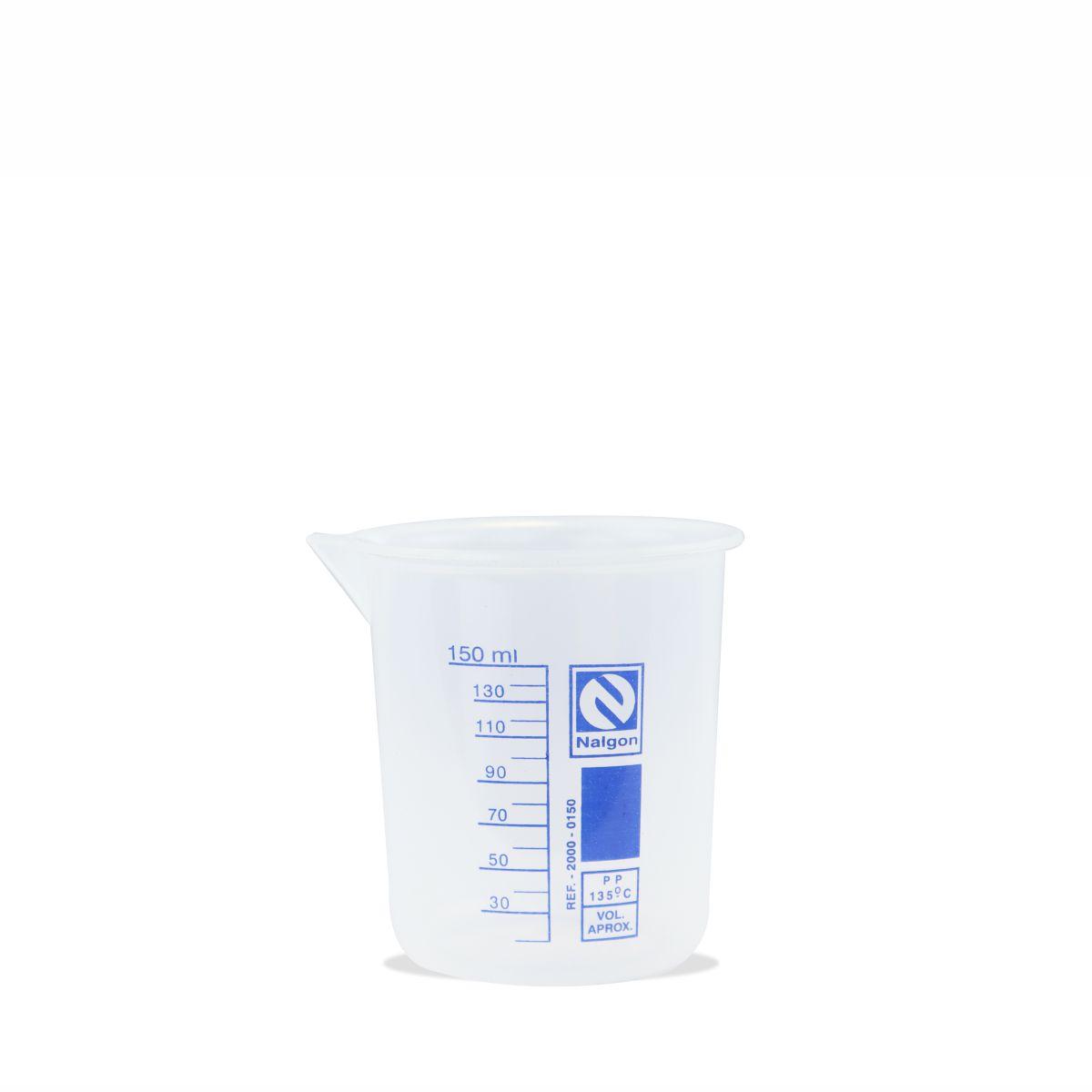 Béquer Forma Baixa em Polipropileno 150 mL
