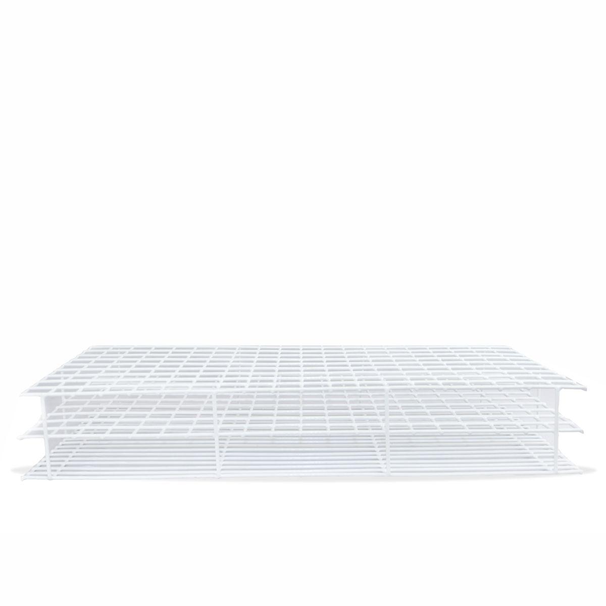 Estante de Arame Revestida em PVC para 200 Tubos de 20 mm