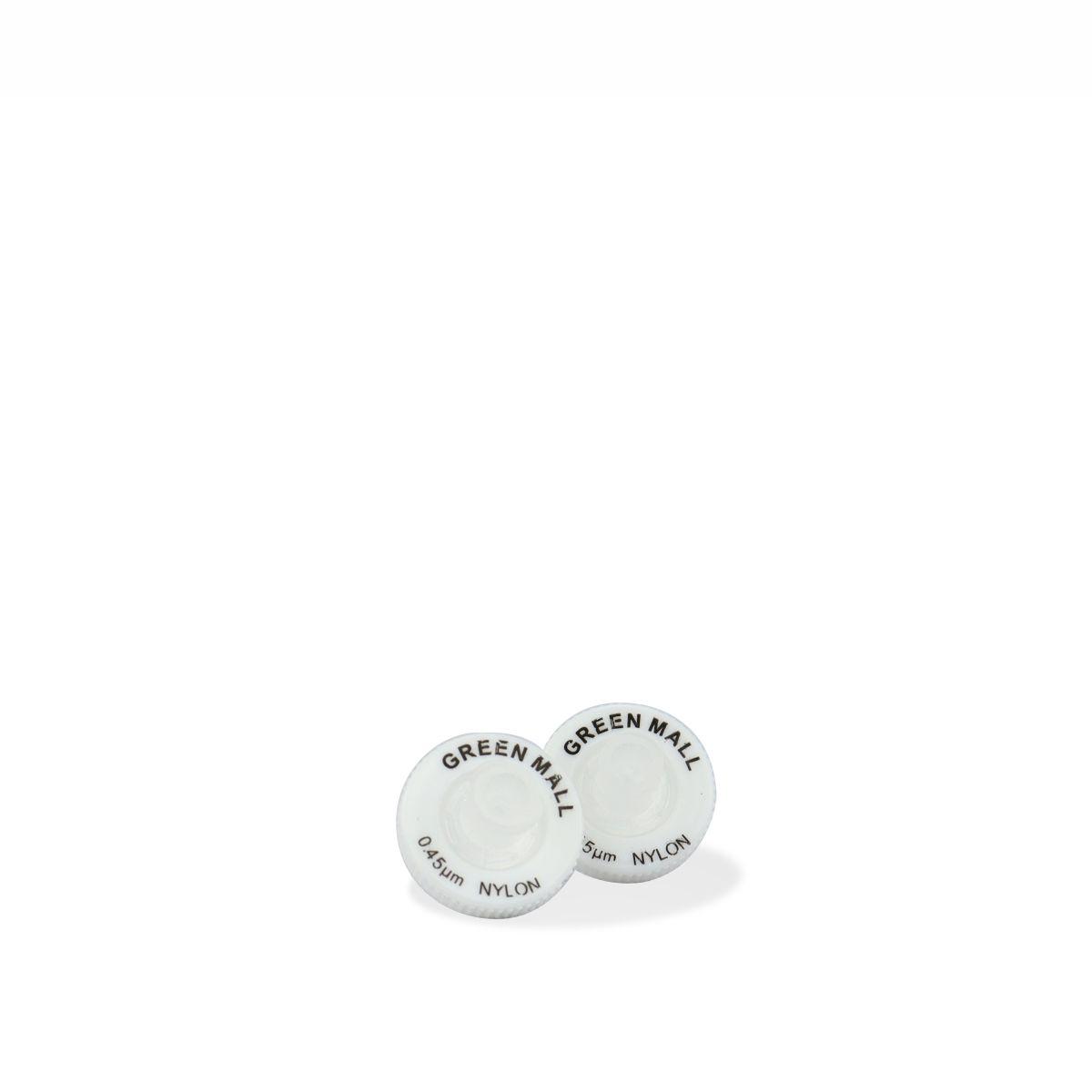 Filtro para Seringa com Membrana em Nylon Poro 0,45 µm e Diâmetro 13 mm (100 unidades)