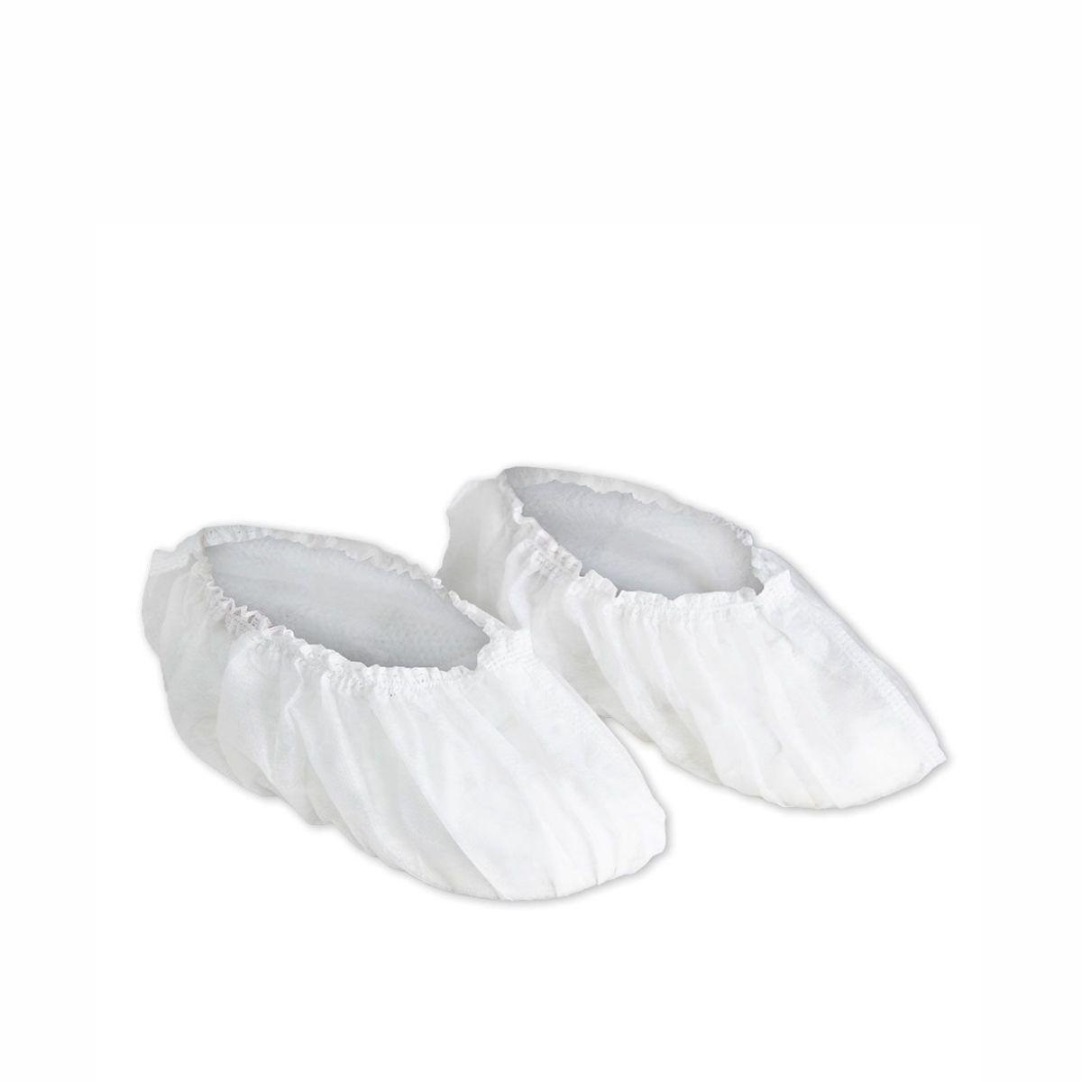 Sapatilha Propé Descartável Branca Estéril (100 unidades)