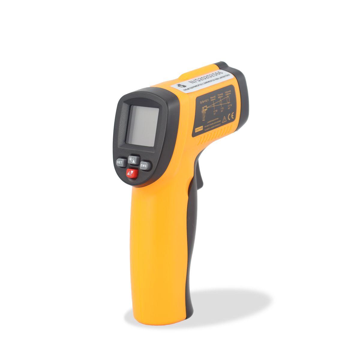Termômetro Infravermelho Faixa de Temperatura -50 a 550°C