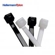 Abraçadeira em Nylon HellermannTyton  T18L Enforca Gato 200mm x 2,5mm Com 100 Peças
