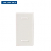 KIT 15 Módulos Interruptor Paralelo Tramontina  10A  250V  57115/002  Branco