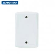 KIT 10 Placas Cega  Tramontina 4x2  Lux²  57105/001 Branca