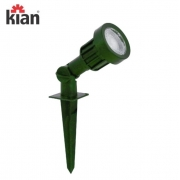 Luminária Espeto Jardim Kian Led  5W Luz Verde
