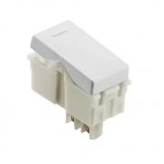 Módulo Interruptor Simples Tramontina  10A  250V  57115/010  Branco