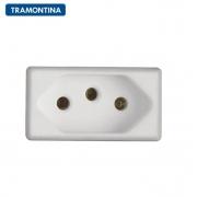Módulo Tomada 2P+T Tramontina  20A  250V  57115/032  Branco