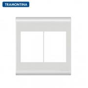 Placa 6 Postos  Tramontina 4x4  Liz  57106/031 Branca