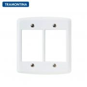 Placa 6 Postos Tramontina  4x4  Lux²  57105/031  Branca