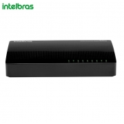 Switch Intelbras 8 Portas Fast Ethernet SF 800 Q+