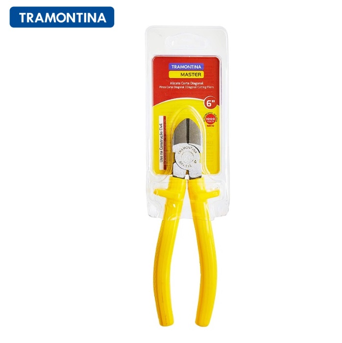 "Alicate Corte Tramontina  Diagonal 6"" Isolado 1000 V  41006/106"