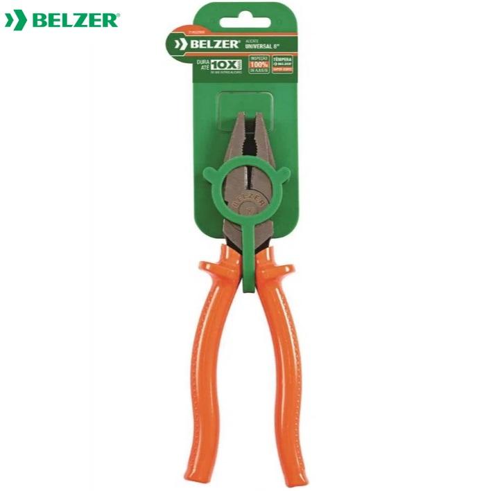 """Alicate Universal  Belzer  8"""" Isolado 1000V  219022BBR"""