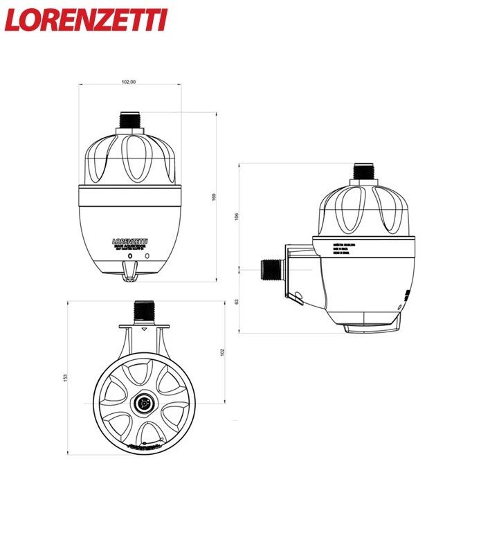 Aquecedor Elétrico Lorenzetti Maxi Ultra 5500W 220V