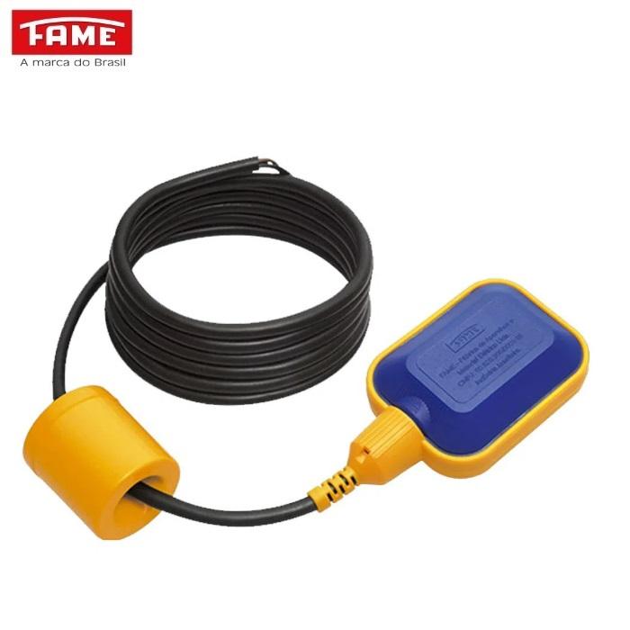 Chave Boia  Fame  Regulador de Nível 3259  25A Cabo 1,5 Metros