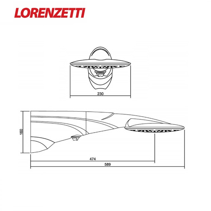 Ducha Lorenzetti Advanced Eletronica 7500W 220V