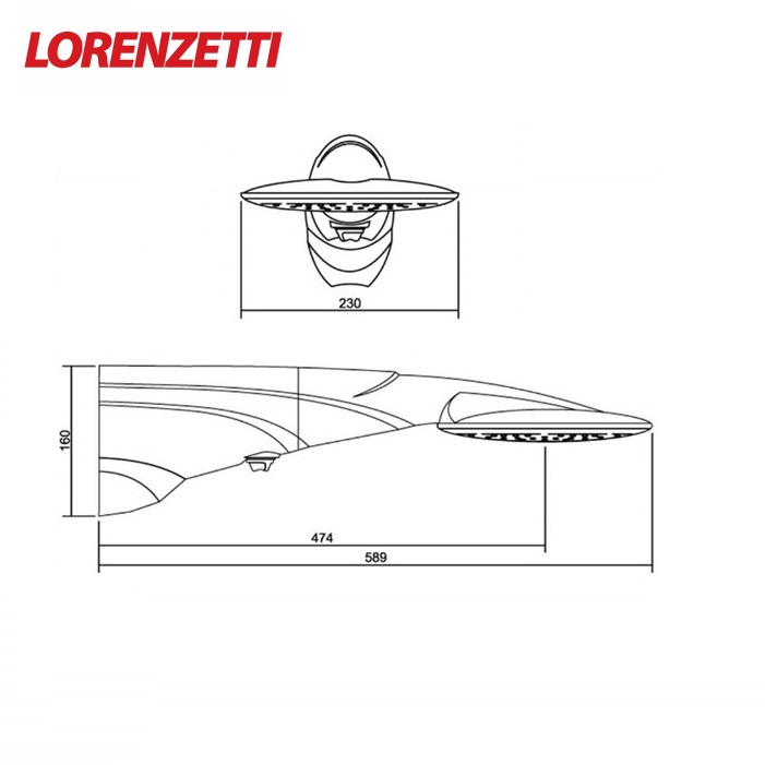 Ducha Lorenzetti Advanced Multi 7500W 220V