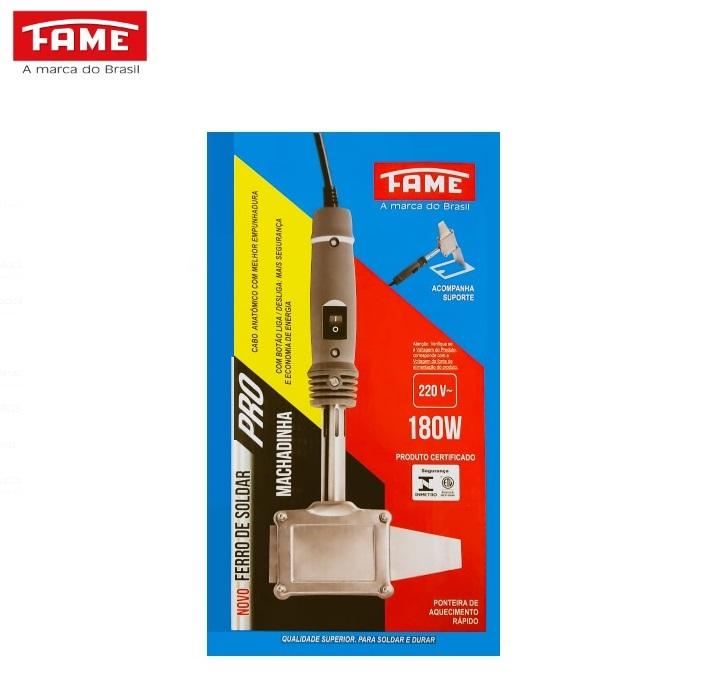 Ferro de Solda 180W 220V Fame Machadinha 3843