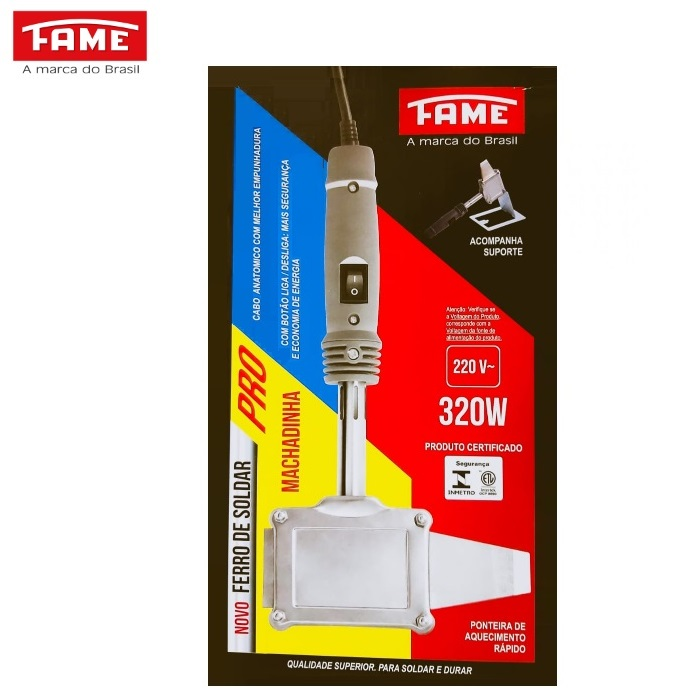 Ferro de Solda 320W 220V Fame Machadinha 3845