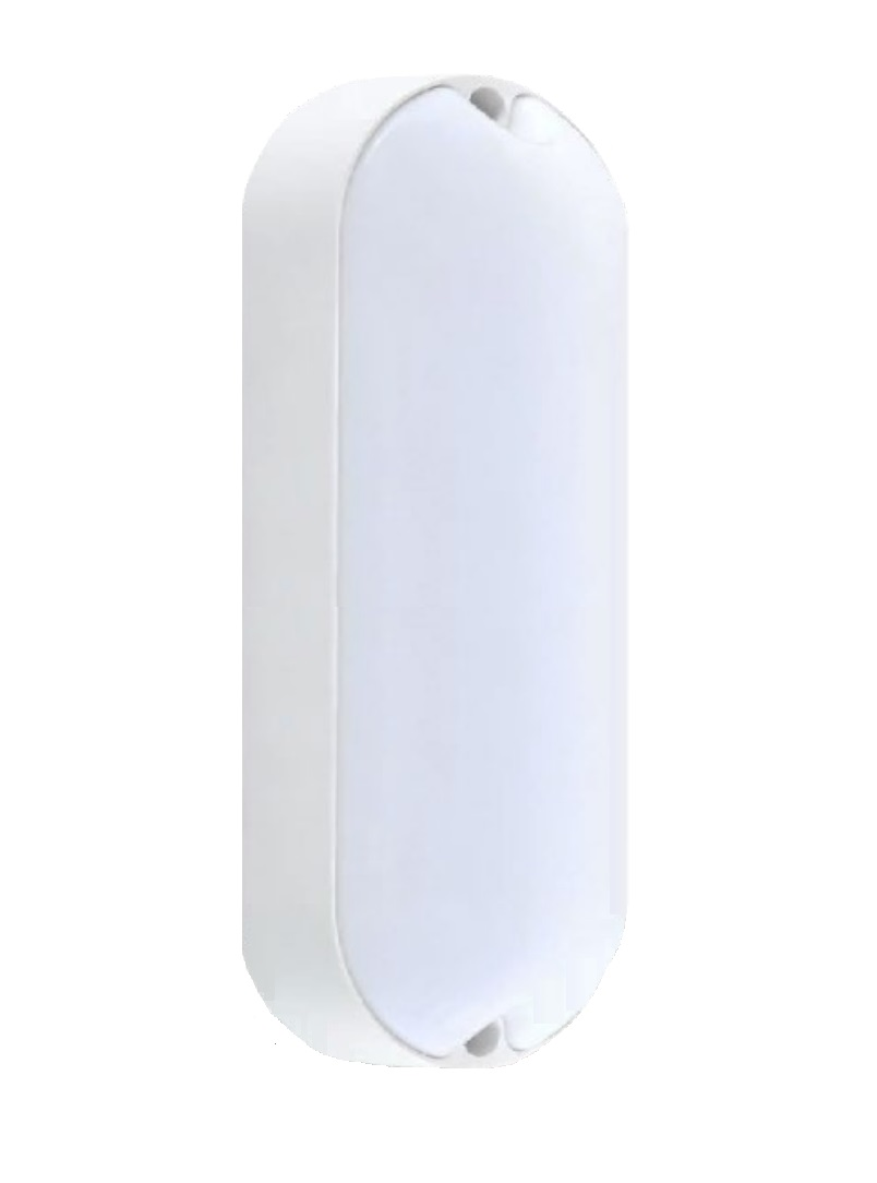KIT 4 Luminárias Arandela Tartaruga LED 15W 3000K  Sobrepor Bivolt  Interna/Externa