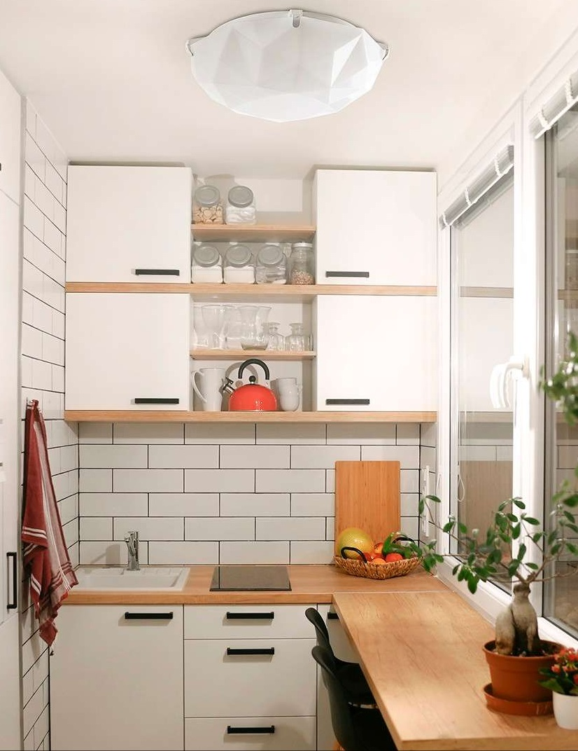KIT 5 Luminárias Lustre Plafon Sides M3 Branco E27 P/ Cozinha, Banheiro, Quarto Startec