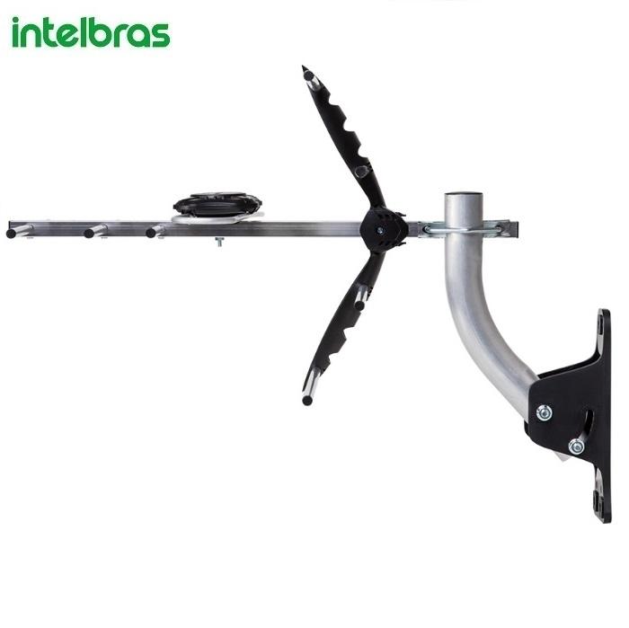 kit  Antena  Externa de TV  Intelbras  Digital UHF HDTV  AE 5010
