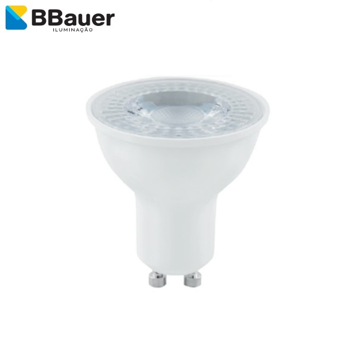 Lâmpada Super Led BBauer Dicroica GU10  4,8W  6500K BIVOLT