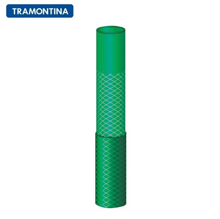 Mangueira Flex Tramontina Verde 15 Metros com Engate Rosqueado e Esguicho 79172/150