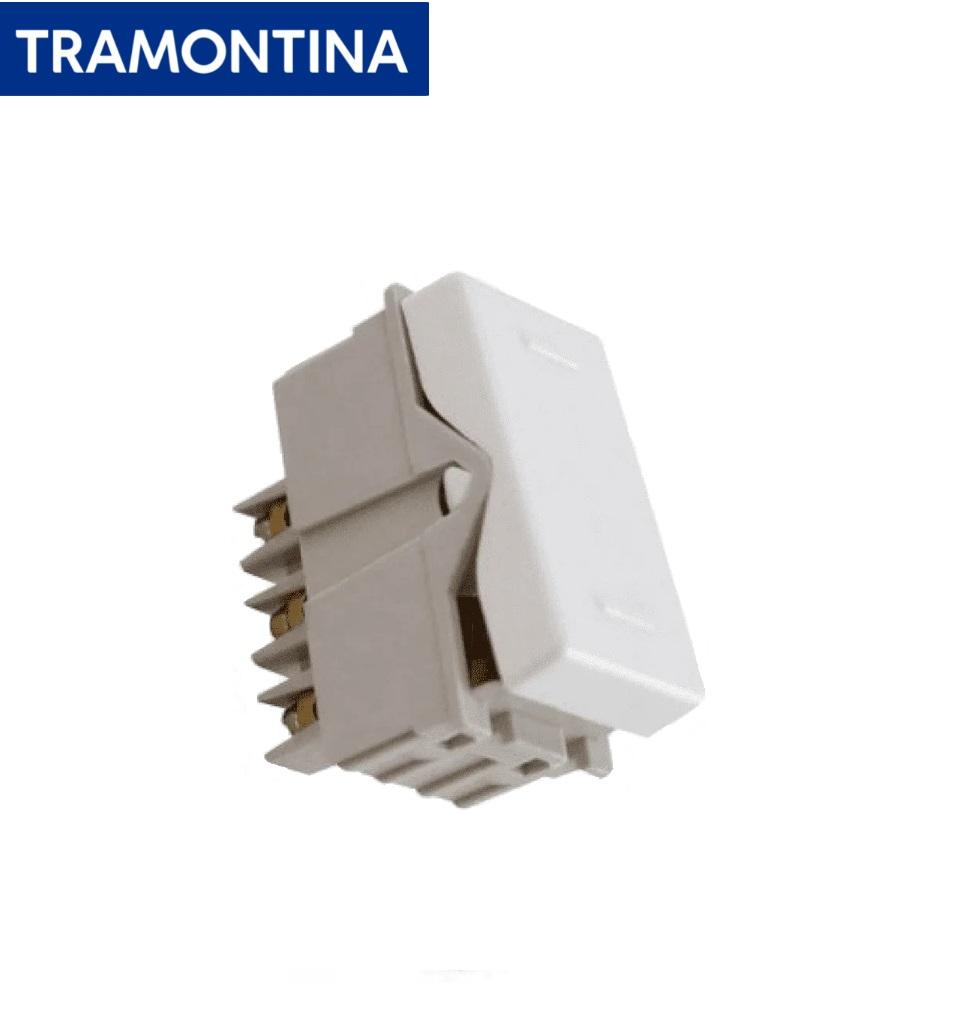 Módulo Interruptor Paralelo Tramontina  10A  250V  57115/008  Branco