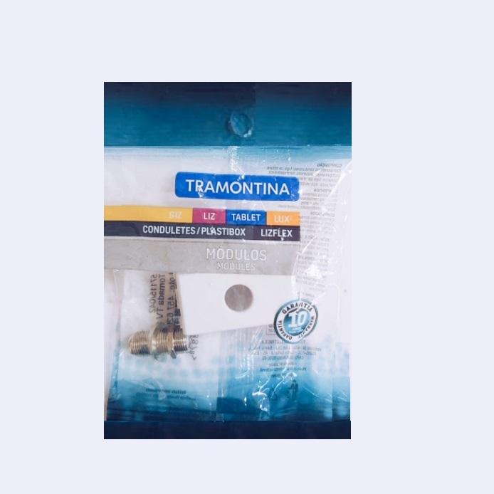 Módulo para Tomada TV SAT Tramontina Coaxial Direta 57115/042 Branco