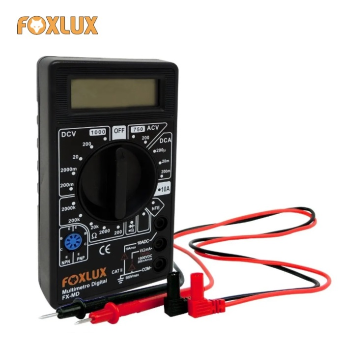 Multimetro Digital Foxlux FX-MD