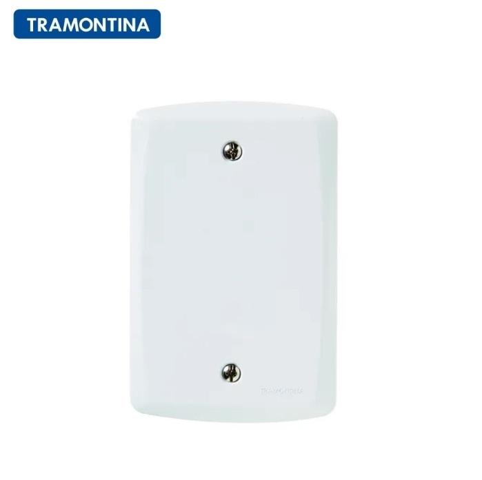 Placa Cega  Tramontina 4x2  Lux²  57105/001 Branca