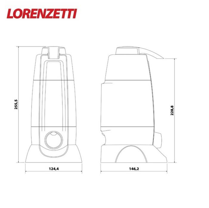 Purificador de Água Lorenzetti Vitale