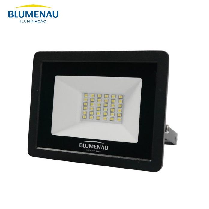 Refletor LED Blumenau 30W Luz Decorativa Verde