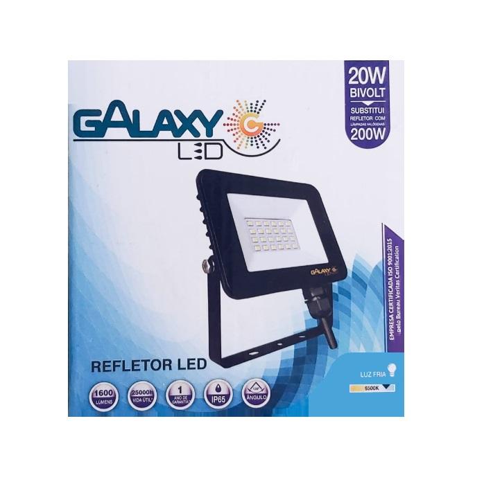 Refletor LED Galaxy Slim  20W  6500K