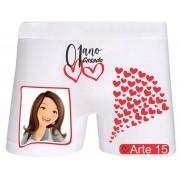 Cueca Boxer Ciumenta Personalizada com Foto