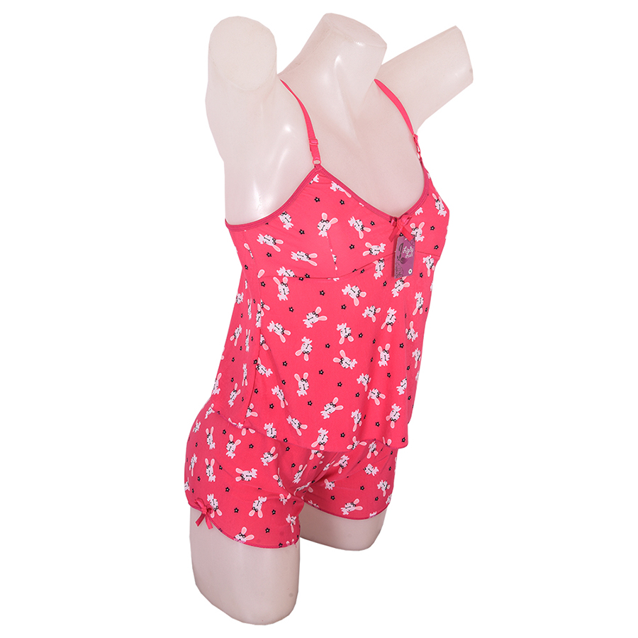 Short Doll Plus Size Luli Conjunto Feminino para Dormir EXG