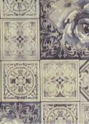 CORINO PVC XANGAI AZULEJO PORTUGUES 100X140CM-X21052