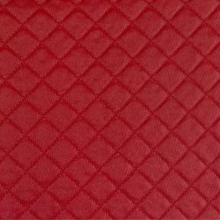 TECIDO PVC CORINO DJON MATELASSEVERMELHO 100X140CM