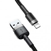CABO USB LIGHTNING IPHONE 1M 2A CB-L11BK C3PLUS