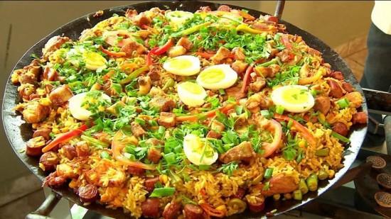 Gastronomia - Cardápio Paella Gaúcha
