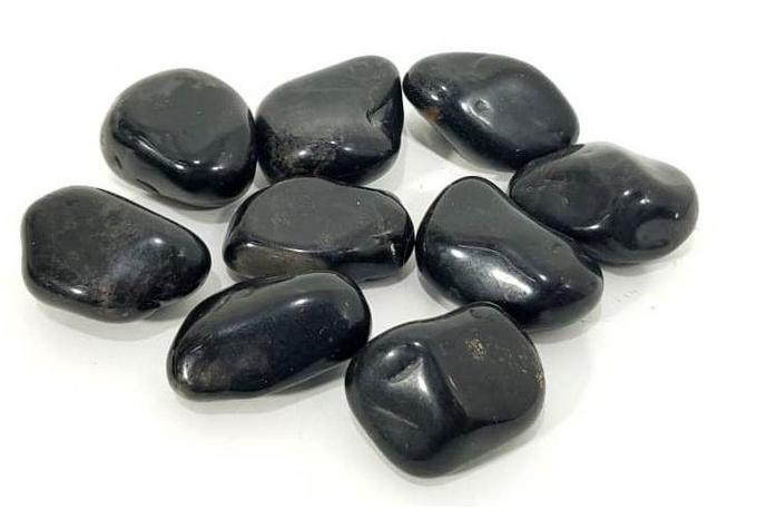100g De Pedra Rolada De Onix Natural