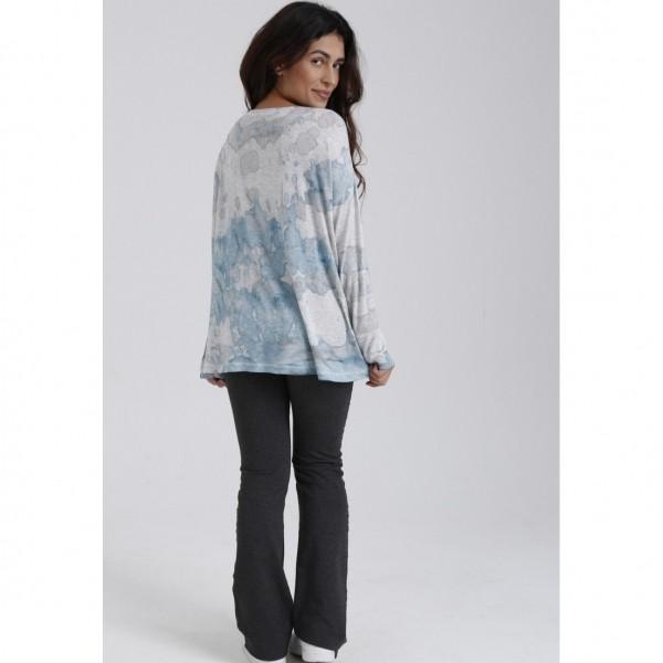 Blusa de Malha Tie Dye Magaw